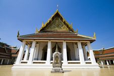 Free Temple Wat Sa Geart Royalty Free Stock Photography - 14327857