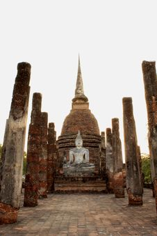 Free Sukhothai Historical Park Stock Photography - 14328322