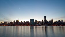 Free New York Skyline At Twilight Stock Photography - 14328352