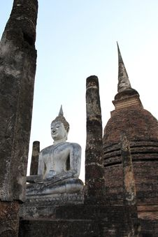 Free Sukhothai Historical Park Royalty Free Stock Photos - 14328358