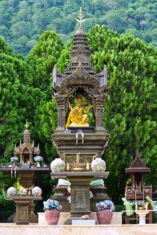 Free Statue Of Buddha Stock Photography - 14328362