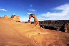 Free Delicate Arch Landscape Stock Image - 14328851