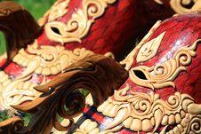 Free Thai Masked Festival Royalty Free Stock Image - 14328956