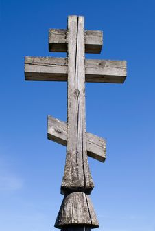 Free Wooden Church Cross Stock Photography - 14329012