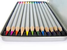 Free Color Pencil Set 3 Royalty Free Stock Photography - 14329097