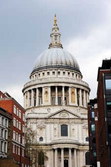 Free St. Paul Cathedral, London Royalty Free Stock Photo - 14329115