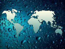 Free World Map Stock Photo - 14329160