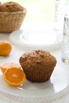 Free Muffin Breakfast Royalty Free Stock Image - 14329216