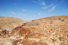 Free Desert Negev Royalty Free Stock Photos - 14329678
