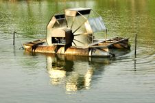 Free Water Wheel Save Nature Royalty Free Stock Photography - 14329797