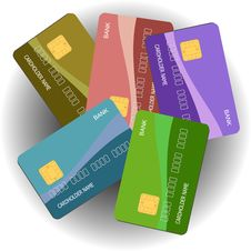 Free Credit Cards Stock Image - 14329871