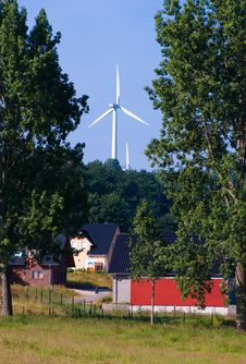 Free Windmill Generators In Germany Stock Photos - 14329973