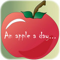 Free An Apple A Day... Illustration Royalty Free Stock Images - 14330309