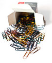 Free Colorful Paper Clips Stock Photography - 14335312