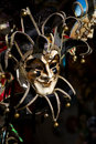 Free Venetian Mask, Dark Background, Venice, Italy Royalty Free Stock Images - 14336789