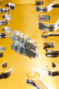 Free Bolt And Wrench Stock Photos - 14339853