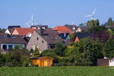 Free Windmill Generators Royalty Free Stock Photography - 14330057