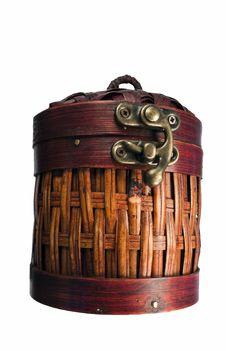 Free Barrel Box Basket Stock Photography - 14331722