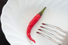 Free Red Chili Pepper Stock Image - 14331811