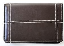 Free Brown Leather Folder Stock Photos - 14331863