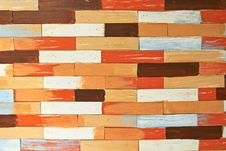 Free Wooden Brick Wall Stock Images - 14331944