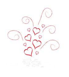 Free Abstract Hearts Stock Photo - 14332030