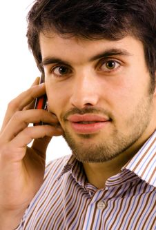Free Man On The Phone Stock Photos - 14332133