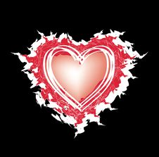 Free Abstract Heart Stock Photography - 14332152