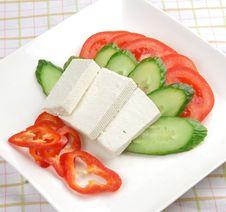 Free Feta Cheese Dish Stock Photo - 14332430