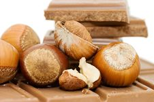 Free Chocolate And Hazelnuts Still Life Stock Photo - 14332580