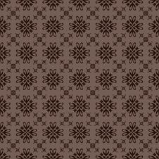 Free Retro Floral Seamless Background Stock Photo - 14332740