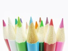 Free Colored Pencils Royalty Free Stock Photos - 14333728