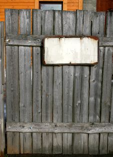 Free Old Wooden Fence Stock Photo - 14333790