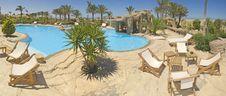Swimming Pool Of A Luxury Villa Royalty Free Stock Photo