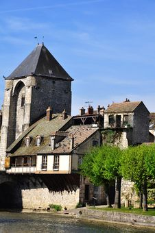 A Medieval Town Stock Photography