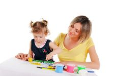 Free Mom And Her Little Daughter Stock Image - 14335151