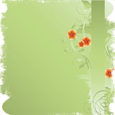 Free Abstract  Floral Background Stock Photography - 14335482