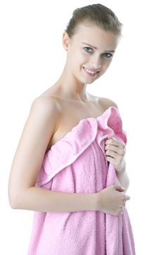 Free Beauty Young Girl  Day Spa Stock Photos - 14335823