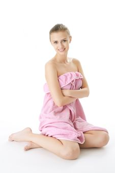 Free Beauty Girl Spa Royalty Free Stock Photos - 14335838
