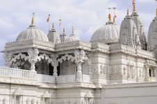 Free Closeup With Indian Temple Columns Stock Photo - 14336030