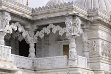 Free Traditional Culture And Columns Of Indian Temple Stock Image - 14336051