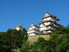 Free Himeji Castle Royalty Free Stock Images - 14336109