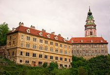 Free Castle Cesky Krumlov Royalty Free Stock Photography - 14336767