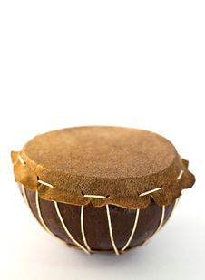 A Small Hand-drum Royalty Free Stock Images