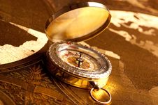 Free Old Compass Stock Photo - 14336960