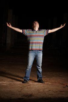 Free Man Stock Photo - 14338400