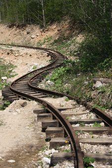 Free Old Winding Railway Stock Photos - 14339763
