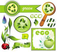 Free Ecology Set 3 Stock Image - 14339771