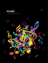 Free Abstract Background With Tunes. Royalty Free Stock Photos - 14341658