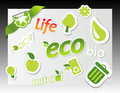Free Set Of Ecology Icons. Stock Photo - 14341660